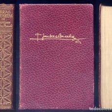 Libros de segunda mano: JARDIEL PONCELA, E. OBRAS COMPLETAS. III: EL LIBRO DEL CONVALECIENTE; EXCESO DE EQUIPAJE... 1960.. Lote 177864372