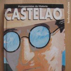 Libros de segunda mano: CASTELAO - PROTAGONISTAS DA HISTORIA - A NOSA TERRA. Lote 177892804