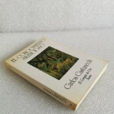 Libros de segunda mano: EL CONOCIMIENTO SILENCIOSO. - CASTANEDA, CARLOS. EL COMPAS DE ORO SWAN. Lote 177939242