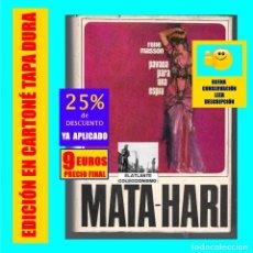 Libros de segunda mano: MATA - HARI - PAVANA PARA UNA ESPÍA - TORAY - 1966 - ESPIONAJE - PRIMERA GUERRA MUNDIAL. Lote 178008018
