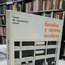 Libros de segunda mano: ESCUELAS Y CENTROS ESCOLARES. - PETERS, PAULHANS.. Lote 194392101