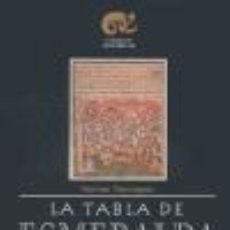 Libros de segunda mano: LA TABLA DE ESMERALDA. - TRIMEGISTO, HERMES.. Lote 178018974