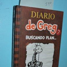 Libros de segunda mano: DIARIO DE GREG 7: BUSCANDO PLAN.. .KINNEY, JEFF. ED. RBA. BARCELONA 2013. Lote 178025060