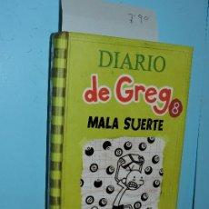 Libros de segunda mano: DIARIO DE GREG 8: MALA SUERTE. KINNEY, JEFF. ED. RBA. BARCELONA 2014. Lote 178025158