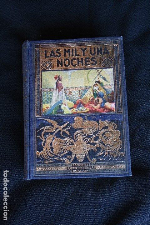 LAS MIL Y UNA NOCHES, AÑO 1939 ED. RAMÓN SOPENA, BIBLIOTECA HISPANIA (A.GALLAND) (Libros de Segunda Mano - Bellas artes, ocio y coleccionismo - Otros)