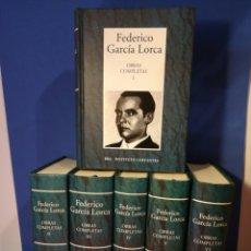 Libros de segunda mano: FEDERICO GARCÍA LORCA/OBRAS COMPLETAS/COMPLETA 6 VOLÚMENES/RBA-INSTITUTO CERVANTES, 2005. Lote 178051724