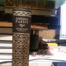Libros de segunda mano: GIOVANNI PAPINI, OBRAS V, AUTOBIOGRAFÍA FICCIÓN, ED. AGUILAR. Lote 178052728