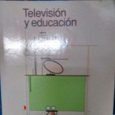 Libros de segunda mano: TELEVISION Y EDUCACION DE JOAN FERRES (PAIDOS). Lote 178015813