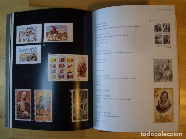 Libros de segunda mano: LIBRO DON QUIJOTE EN LA CASA DE LA MONEDA. FABRICA NACIONAL DE MONEDA Y TIMBRE 2005 - Foto 3 - 178057153