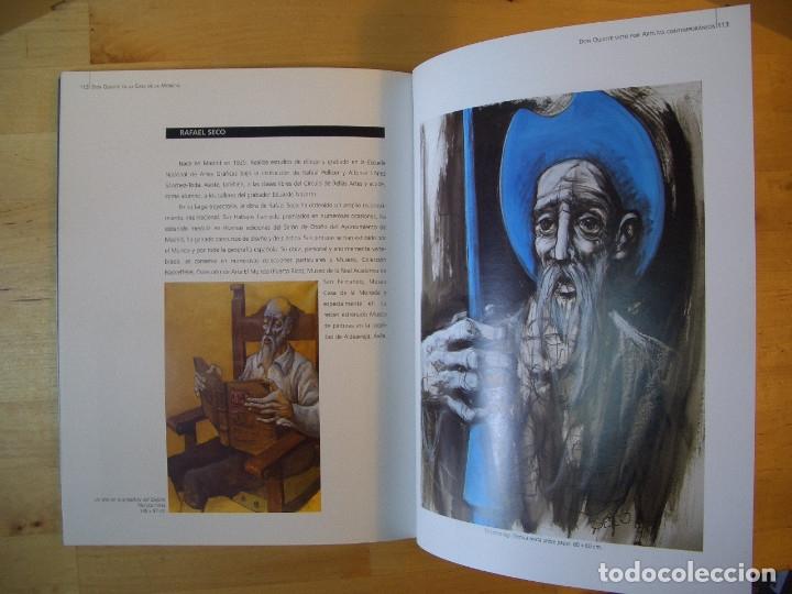 Libros de segunda mano: LIBRO DON QUIJOTE EN LA CASA DE LA MONEDA. FABRICA NACIONAL DE MONEDA Y TIMBRE 2005 - Foto 12 - 178057153