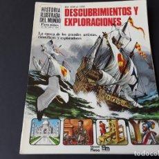 Libros de segunda mano: LIBRO SM PLESA DESCUBRIMIENTOS Y EXPLORACIONES. Lote 178070917