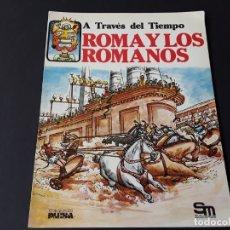 Libros de segunda mano: LIBRO SM PLESA ROMA Y LOS ROMANOS. Lote 178071989