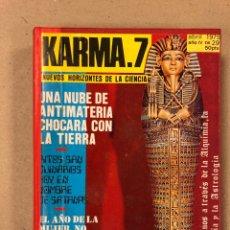 Libros de segunda mano: KARMA-7 (AÑO 1975 COMPLETO). LOTE DE 12 REVISTAS RECOPILADAS EN 1 TOMO. DEL N° 26 AL 37.. Lote 178101482