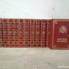 Livres d'occasion: HISTORIA DE ESPAÑA. CLUB INTERNACIONAL DEL LIBRO, 12 TOMOS. COMPLETA. Lote 178138330