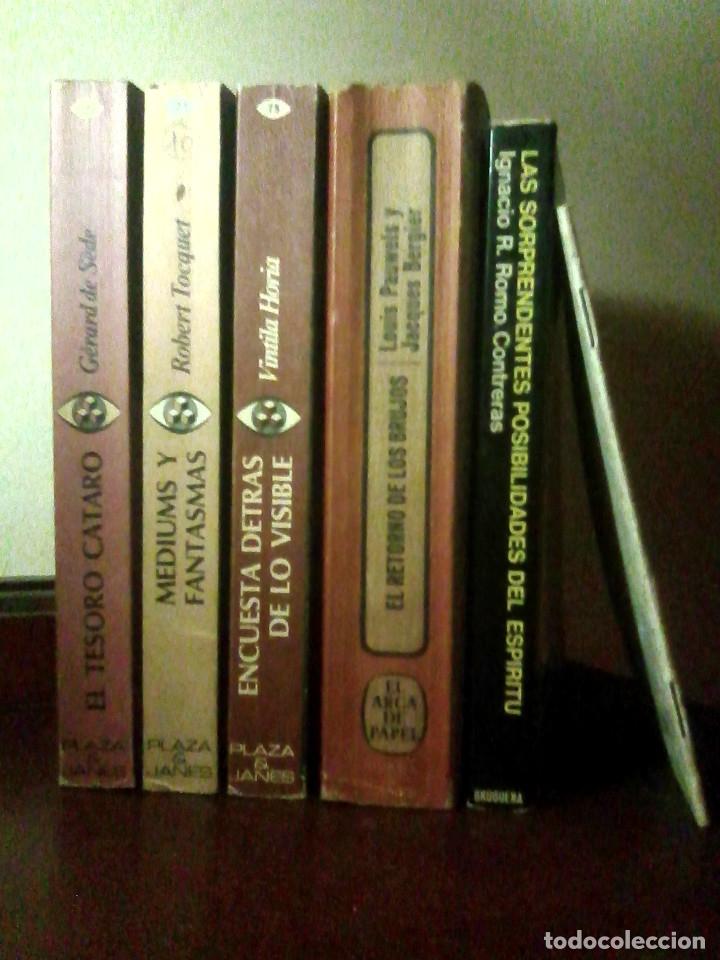 LOTE 3 LIBROS COL. REALISMO FANTÁSTICO + REGALO EL RETORNO DE LOS BRUJOS Y 2 + (Libros de Segunda Mano - Parapsicología y Esoterismo - Otros)