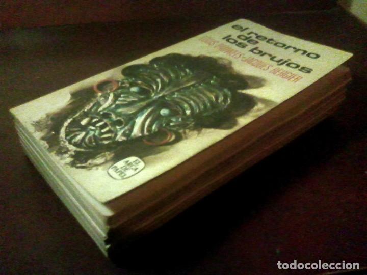 Libros de segunda mano: Lote 3 libros col. Realismo fantástico + regalo El retorno de los brujos y 2 + - Foto 6 - 178150183