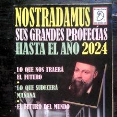 Libros de segunda mano: NOSTRADAMUS: SUS GRANDES PROFECÍAS HASTA EL AÑO 2014 (EDICIONES FREELIVE, 2003). Lote 178153279