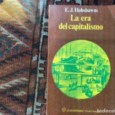 Libros de segunda mano: LA ERA DEL CAPITALISMO. E. J. HOBSBAWM. GUADARRAMA. Lote 178162400
