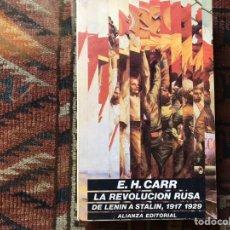 Libros de segunda mano: LA REVOLUCIÓN RUSA. E. H. CARR. DE LENIN A STALIN 1917-1929.. Lote 178162413