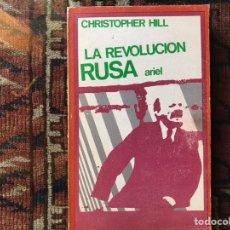 Libros de segunda mano: LA REVOLUCIÓN RUSA. CHRISTOPHER HILL. ARIEL. Lote 178162414