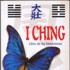 Libros de segunda mano: I CHING LIBRO DE LAS MUTACIONES - DONATELLA BERGARMINO - DIEGO MELDI - LIBSA. Lote 178171273
