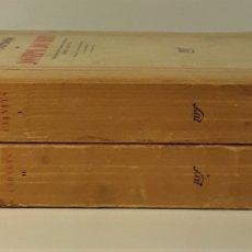 Libros de segunda mano: LES CARNETS D JOSEPH JOUBERT. TOMOS I Y II. A. BEAUNIER. EDIT. GALLIMARD. 1938.. Lote 178176601