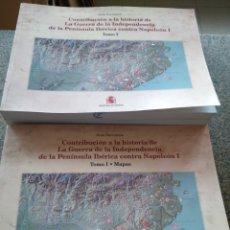 Libros de segunda mano: CONTRIBUCION A LA HISTORIA DE LA GUERRA DE LA INDEPENDENCIA DE LA PENINSULA IBERICA CONTRA NAPOLEON. Lote 178194517