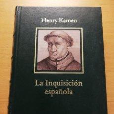 Libros de segunda mano: LA INQUISICIÓN ESPAÑOLA (HENRY KAMEN). Lote 178204692