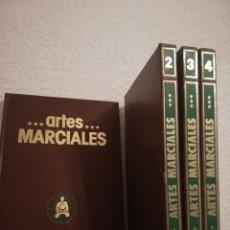 Libros de segunda mano: ARTES MARCIALES. ENCICLOPEDIA PRÁCTICA. 4 VOLS. ED.NUEVA LENTE. COMPLETA. Lote 178252747