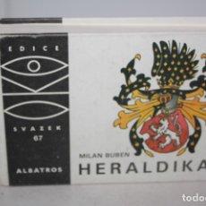 Libros de segunda mano: ANTIGUO LIBRO DE HERÁLDICA.. Lote 178305331