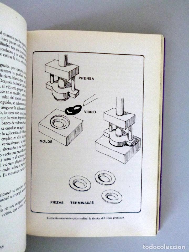 Libros de segunda mano: Mª LUISA GONZALEZ PENA // VIDRIOS ESPAÑOLES // 1984 // COLECCIÓN ARTES DEL TIEMPO Y DEL ESPACIO - Foto 5 - 178339921
