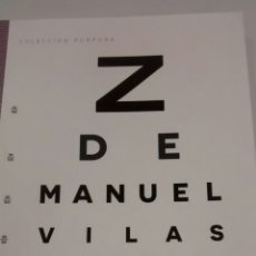 Libros de segunda mano: ZETA DE MANUEL VILAS (SALTA DE PAGINA). Lote 178204401