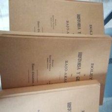 Libros de segunda mano: BOLETÍN DE HISTORIA Y GEOGRAFÍA DEL BAJO-ARAGÓN. TOMOS: I,II Y III. AÑOS 1907, 1908 Y 1909 . Lote 178361732