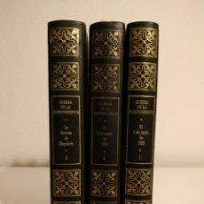 Libros de segunda mano: GUERRA DE LA INDEPENDENCIA 3 VOLÚMENES CONDE DE TORENO. Lote 178382261