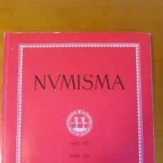 Libros de segunda mano: NUMISMA 247 ENERO DICIEMBRE 2003. Lote 178448788