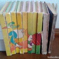 Libros de segunda mano: BIBLIOTECA DE LOS JOVENES CASTORES DIEZ TOMOS. Lote 178613201