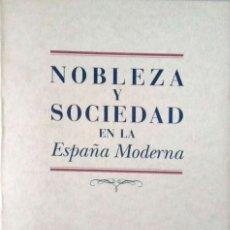 Libros de segunda mano: VV. AA. NOBLEZA Y SOCIEDAD EN LA ESPAÑA MODERNA. ASTURIAS. 1996.. Lote 178624285