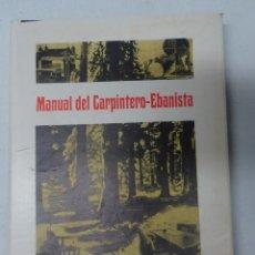 Libros de segunda mano: ANTIGUO LIBRO MANUAL DEL CARPINTERO-EBANISTA , BIBLIOTECA PROFESIONAL SALESIANA, VER FOTOS. Lote 178633313