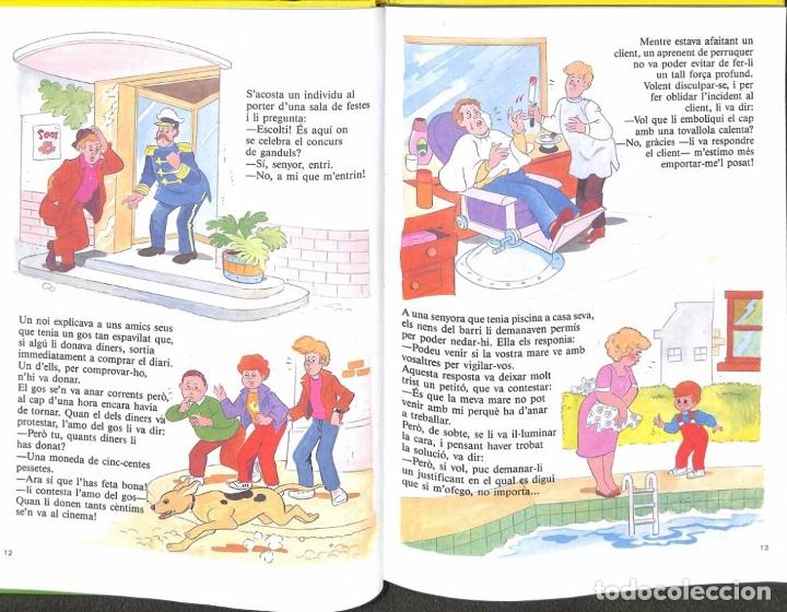 Libros de segunda mano: Acudits, Enganyifes, Endevinalles - Susaeta Ediciones - Foto 2 - 178691772