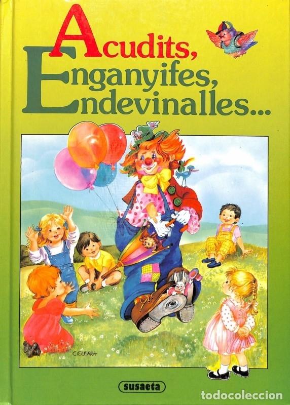 ACUDITS, ENGANYIFES, ENDEVINALLES - SUSAETA EDICIONES (Libros de Segunda Mano - Literatura Infantil y Juvenil - Otros)