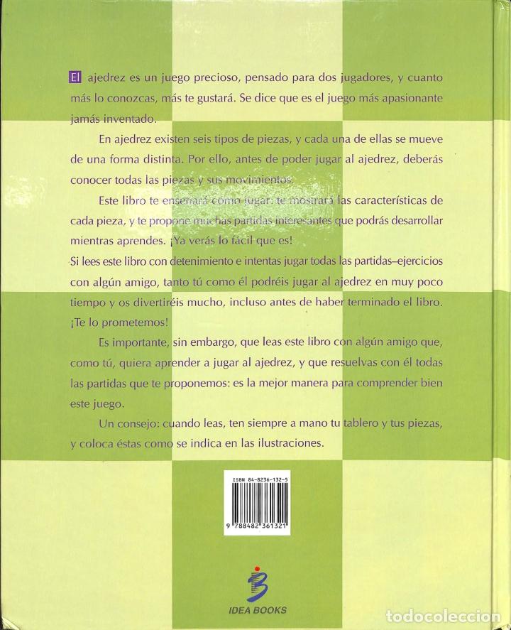 Libros de segunda mano: Ajedrez Para Niños - W. T. Mcleod & R. Mongredien - Idea Books - Foto 4 - 178698220