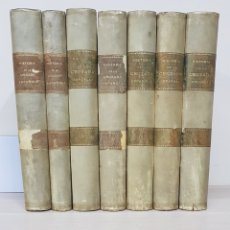Libros de segunda mano: HISTORIA DE LAS CRUZADA ESPAÑOLA (7 TOMOS) - D. JOAQUÍN ARRABRÁS - EDICIONES ESPAÑOLAS. Lote 178698970