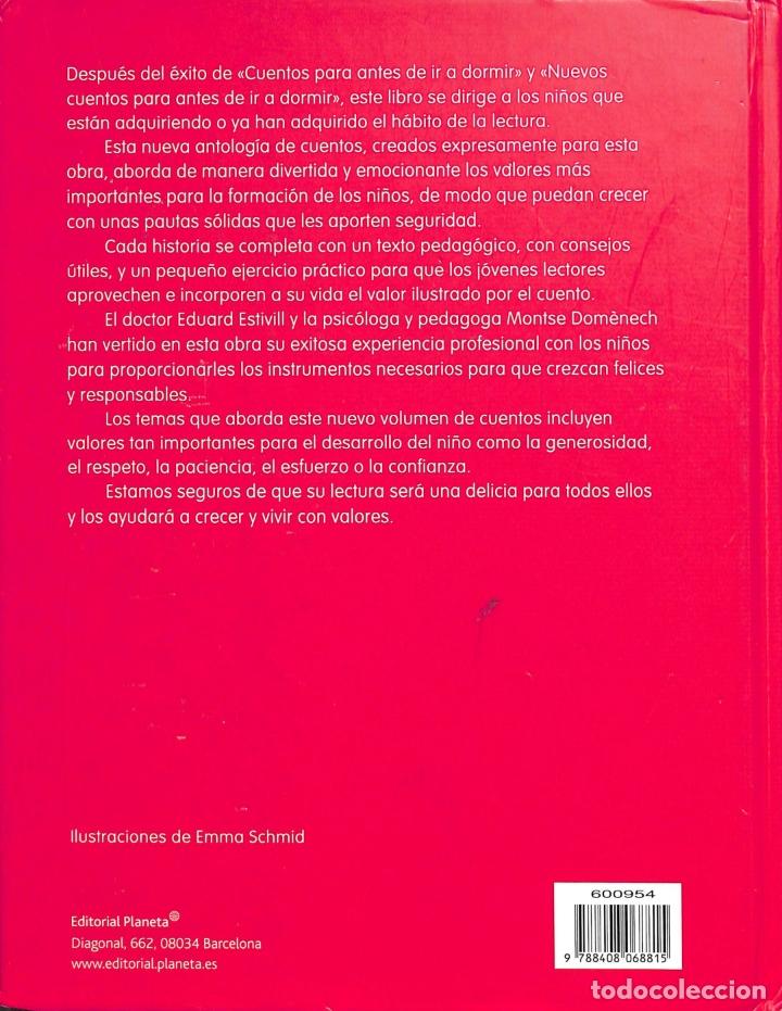 Libros de segunda mano: Cuentos Para Crecer - Dr. Eduard Estivill / Montse Doménech - Planeta - Foto 2 - 178705503