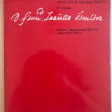 Libros de segunda mano: MURCIA- FRANCISCO SALZILLO ESCULTOR- JOSE SANCHEZ MORENO 1.983. Lote 178778252