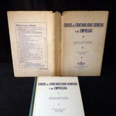 Libros de segunda mano: CURSO DE CONTABILIDAD GENERAL Y DE EMPRESAS. JERÓNIMO GRANDE VILLAZÁN. ED. INST.CONTABILIDAD. 21X31 . Lote 178798530