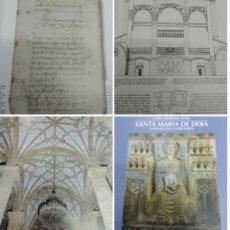 Libros de segunda mano: SANTA MARIA DE DEBA UNA IGLESIA MARINERA VV.AA HISTORIA Y RESTAURACIÓN GIPUZKOA PAIS VASCO. Lote 178799540