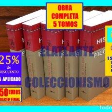 Libros de segunda mano: HISTORIA DE LA FILOSOFÍA - NICOLÁS ABBAGNANO - GIOVANNI FORNERO - HORA - 5 TOMOS - 150 EUROS FINAL. Lote 176067385