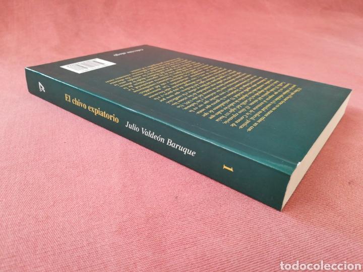 Libros de segunda mano: EL CHIVO EXPIATORIO - JUDÍOS, REVUELTAS Y VIDA COTIDIANA EN LA EDAD MEDIA - JULIO VALDEÓN BARUQUE - Foto 2 - 178831271