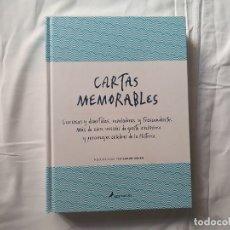 Libros de segunda mano: CARTAS MEMORABLES - EDICIONES SALAMANDRA - ISBN 978-84-9838-599-1. Lote 178864492