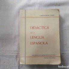 Libros de segunda mano: DIDÁCTICA DE LA LENGUA ESPAÑOLA - RAMÓN ESQUER TORRES - EDICIONES ALCALÁ - MADRID. Lote 178872175